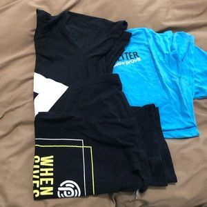 Pruvit t shirt bundle of 3